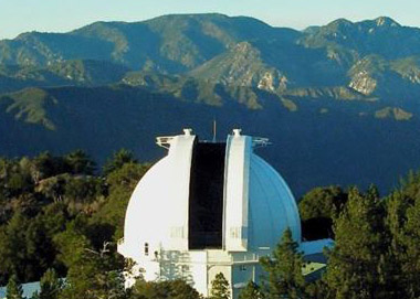 Photo of Mount Wilson Observatory
