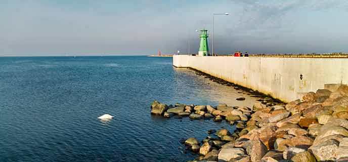 Photo of Western Breakwater in Nowy Port