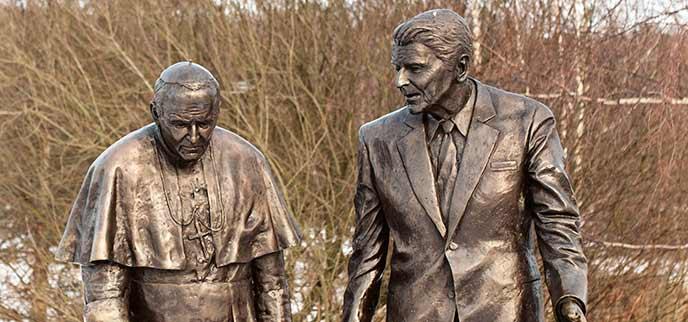 Photo of President Ronalda Reagana Park