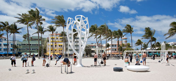 Photo of Calisthenic Park South Beach