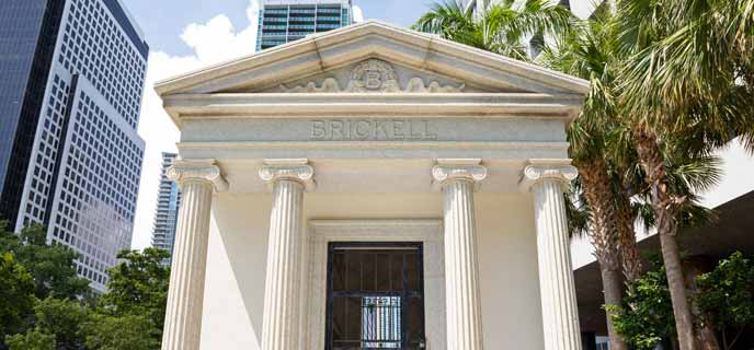 Photo of Brickell Park & Mausoleum