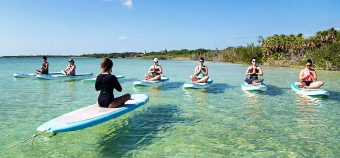 Photo of SUP Yoga Tulum