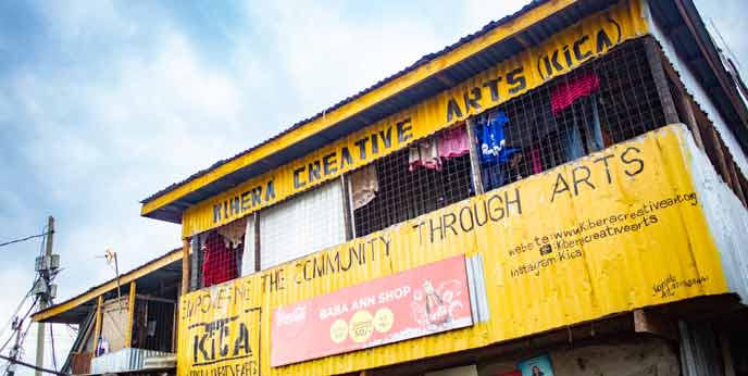 Photo of Kibera Creative Arts Studio