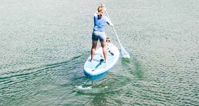 Photo of Stand Up Paddleboarding