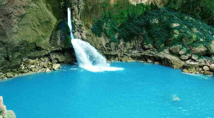 Photo of Matayangu Blue Waterfall