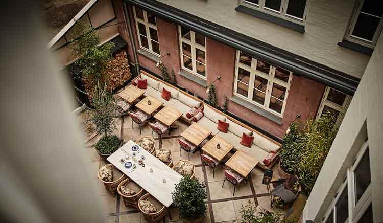 Photo of Sanders Courtyard